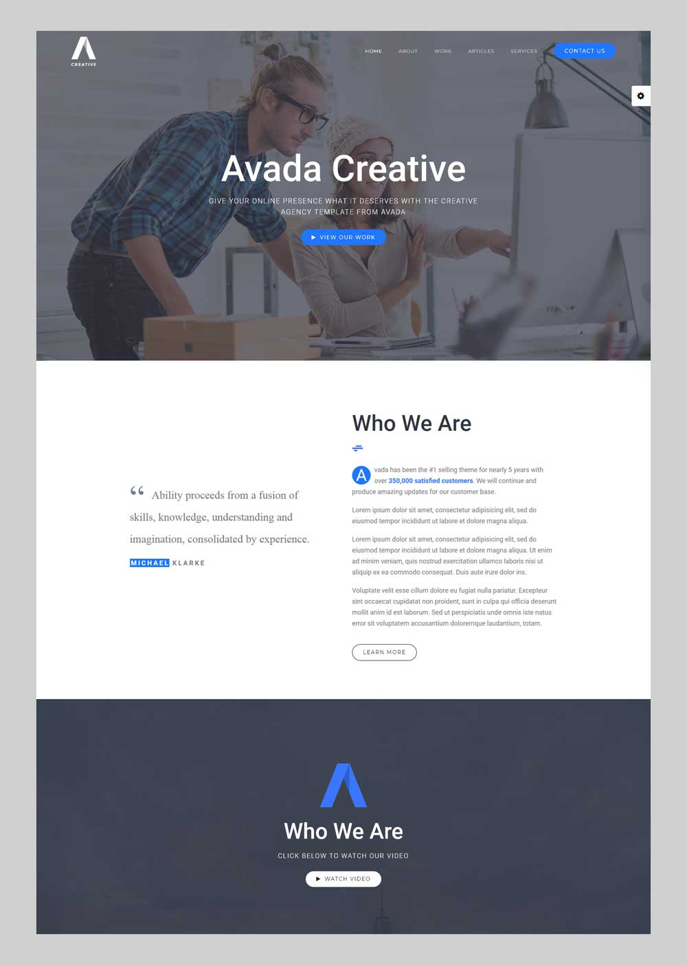 Avada - Premium WordPress theme