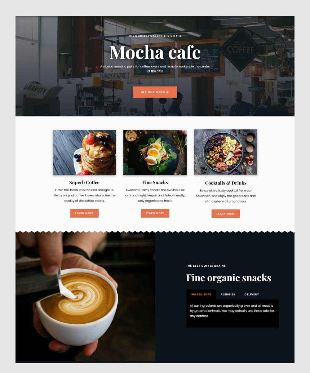 Mockup - Page Builder