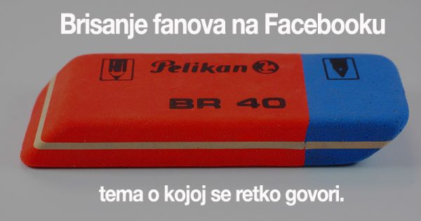 Brisanje fanova na facebooku